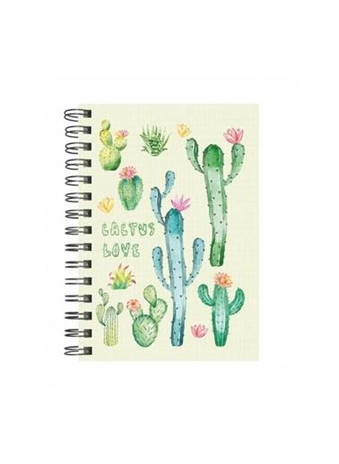 Deffter Deffter 14x20 cm Cactus Love Renkli